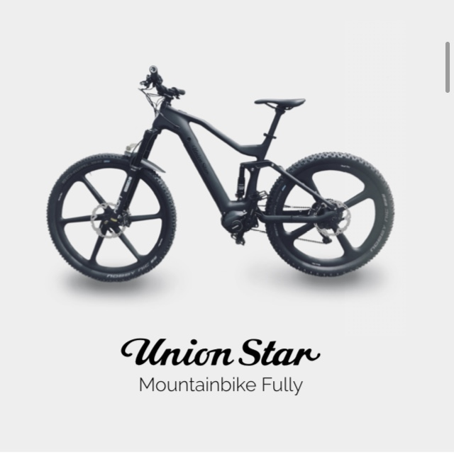 Union Star Mountainbike Fully